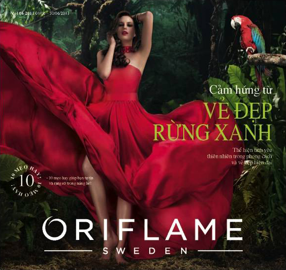 Catalogue My Pham Oriflame 6 2013 1 Catalogue Mỹ Phẩm Oriflame 6 2013
