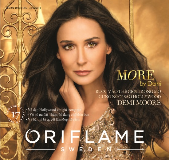 Catalogue My Pham Oriflame 5 2013 1 Catalogue Mỹ Phẩm Oriflame 5 2013