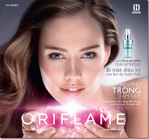 Catalogue My Pham Oriflame 3-2015