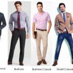 Ăn mặc theo hoàn cảnh (dress code) dành cho nam giới